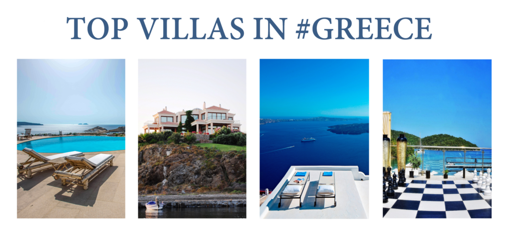 Top Villas in Greece