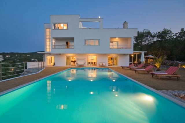 Luxury Holiday Villa Rental in Krk Island, Croatia